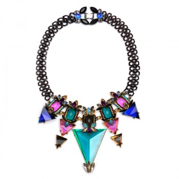 Wyatt Sultry Glam Statement Necklace